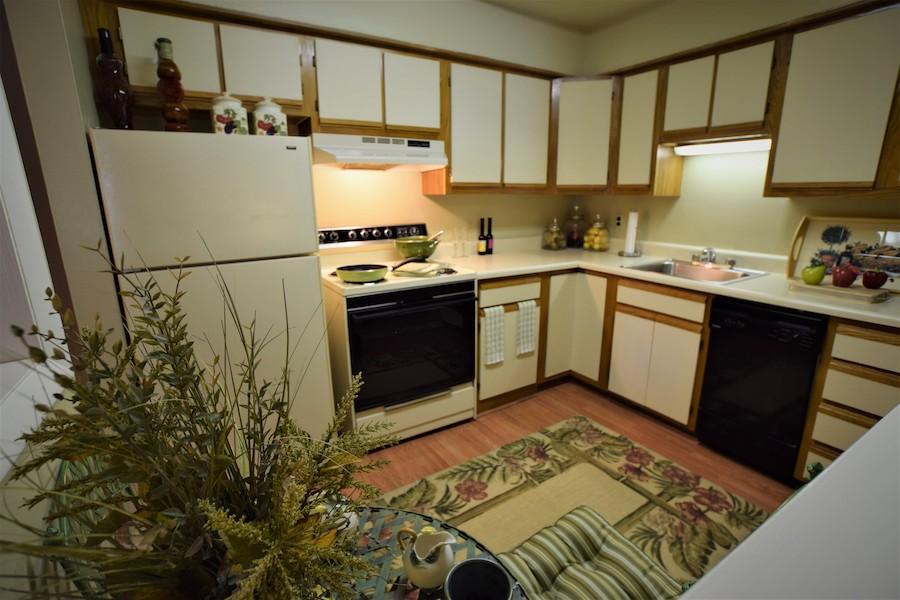 Riverland model kitchen